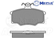 Meyle Brake Pad Set, Front Axle With anti-squeak plate 025 205 7419