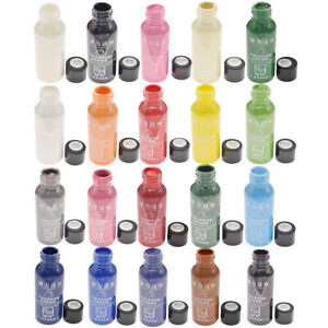 30ML Matte Color Leather Edge Paint Oil Dye Leather Craft Professional DIY Tool