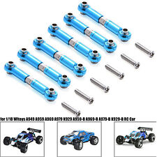 Adjustable Aluminum Linkages Pull Rod Front Rear For 1/18 WLtoys A959 A979 K929