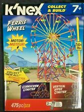K'Nex FerriS Wheel Collector BuiLd 12436 MotoriZed 475 pieces Brand New Sealed!