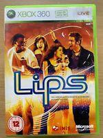 LIPS ~ Microsoft XBox 360  Video Game Singing Sing Karaoke