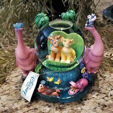 New Disney Store Lion King Musical Snow Globe Simba's Pride Plays UPENDI