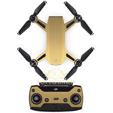 SopiGuard Brushed Gold Skin Sticker Wrap Battery Controller for DJI Spark