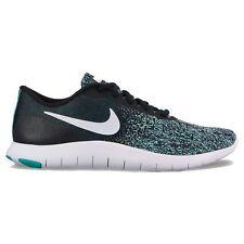 NEW Nike Flex Contact Women Running Shoes size 8.5 in Black Aqua Jade