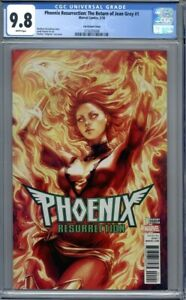 Phoenix Resurrection #1 Artgerm Variant   Marvel Comics X-Men 1st Print CGC 9.8