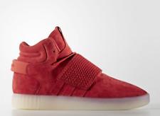 New adidas Originals Tubular Invader Strap Red White Bb5039 Mens High Top