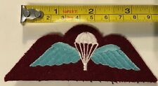 British Army Paratroopers Qualification wing. From of large collection J      G3