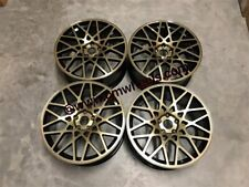 "19"" Rotiform BLQ Stance Style Wheels Gloss Black Bronze Face VW Golf MK5 MK6 MK7"