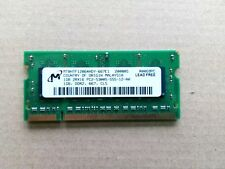 RAM portatil 1GB DDR2 SODIMM  MICRON MT8HTF12864HY-667E1 1rx8 pc2-5300s ddr2-667