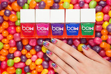 Bow Polish Thermo Top Coat Collection Nail Polish Lacquer Brand New