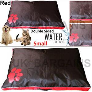 Dog Bed Waterproof Cushion Pet Cat Mattress Double Sided Deluxe Soft Pillow Mat