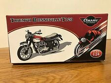 ATLAS EDITIONS 1:24 SCALE TRIUMPH BONNEVILLE T120 EXCELLENT