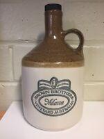 Vintage Stoneware Brown Brothers Milawa Vineyard Bottle Jug Decanter Mancave