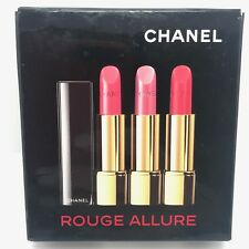 CHANEL Rouge Allure Luminous Full Colour Lipstick TRIO # 138, # 910, # 165