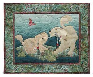 Paw Wars, McKenna Ryan, Dog Park Quilt Pattern Series, Block Four, Dogs DIY