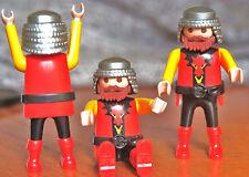3 Playmobil Dragón Castillo Guardia/soldado figuras nuevo?