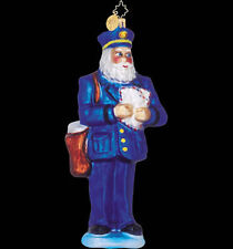 Radko 01-0195-0 Rain Or Shine - Postman Santa - Retired Ornament