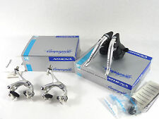 Campagnolo 9 Speed Athena Ergopower shifters & Brake Caliper Set 1998 Alloy NOS