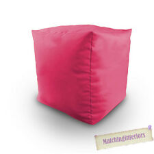 Rose Rempli De Coton Pouf Poire Cube Echelle Tabouret Pouf Siège De Repos