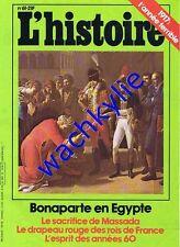 L'histoire n°61 - 11/1983 Bonaparte Égypte Massada année 60 sixties