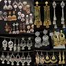Women Bohemian Carved Tassel Bells Drop Gypsy Indian Jhumka Ethnic Earring Jewel