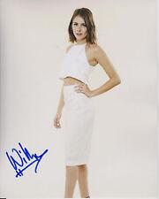 WILLA HOLLAND Arrow TV Show Speedy Actress SIGNED 8X10 Photo C