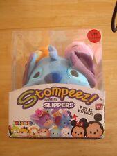 Disney Tsum Tsum Stompeez Slippers - Children Size S/M (12.5 - 3) NIB