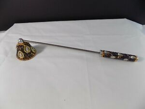 Vintage Jeweled Candle Snuffer or Extinguisher