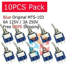 10 Security Alarm Pre-Wired On//Off Mini Toggle Switch Switches