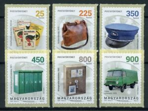 Hungary Postal Services Stamps 2020 MNH Postal History Part IV Trucks 6v S/A Set