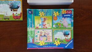 Ravensburger In the Night Garden my first puzzles. 4 puzzles No. 07 346 7
