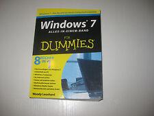 Windows 7 für Dummies, Alles-in-einem-Band von Woody Leonhard (2009, Taschenbuch