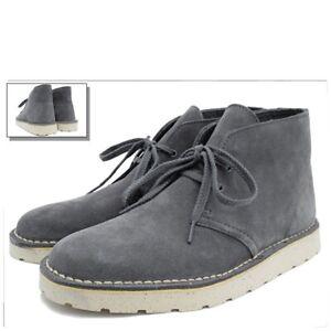 Clarks Originals Grey Suede Boots Size 8