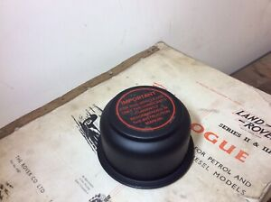 Land Rover Series One 1 Oil Filler Cap/ Breather 236406