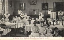 Dalston. A Corner of the Children's Ward, German Hospital.
