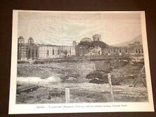 Palermo nel 1891 Lavori per l'Esposizione Nazionale Veduta dal giardino centrale