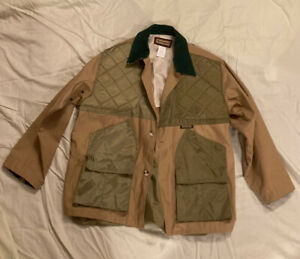 Remington Large Hunting Shooting Jacket Coat w Pouch & Chest Pads - Never Used