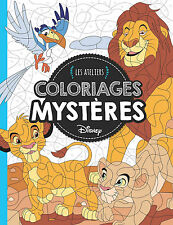 Disney Animals Adult Colouring Book French By Number Puzzle Lion Hidden Images