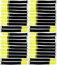 30x Velcro Fascette per cavi 200 x 20 mm BLU FASCETTE PER CAVI CAVO nastro di velcro Cavo velcro asola