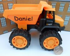 PERSONALISED ANY NAME TOY JCB TIPPER TRUCK PLAY SET GIRL BOY BIRTHDAY GIFT NEW