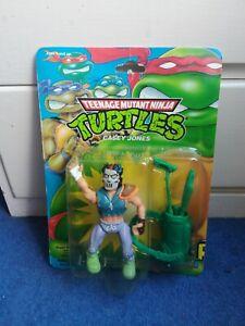 CASEY JONES - Vintage Teenage Mutant Ninja Turtles Figure - MOC Sealed