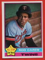 1976 Topps #400 Rod Carew NEAR MINT/MINT+ Minnesota Twins HOF FREE SHIPPING
