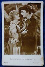 CINEMA - FOTO CARD - CAMILLA HORN + JOHN BARRYMORE
