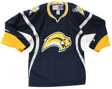 Men's Vintage Buffalo Sabres Slug CCM Sewn Stitched Hockey Jersey Large L