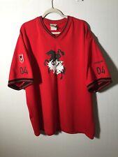 st george illawarra dragons Vintage 2004 Members Jersey T Shirt Size 2XL