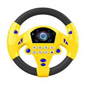 Auto Lenkrad Spielzeug Kinder Lenkrad Lernspielzeug Musik Car Wheel Spielzeug DE