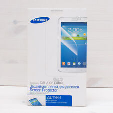 "Original NEW 2x Samsung Screen Protector Film for Tablet Galaxy TAB 3 7"" GENUINE"