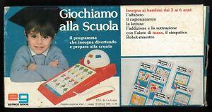 GIOCHIAMO ALLA SCUOLA, EDITRICE GIOCHI ART. N.4700 - FONDO MAGAZZINO ANNI 80'