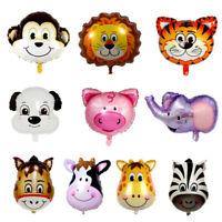 US Animal Foil Balloons Kids Decor Safari Jungle Birthday Party Baby Showe
