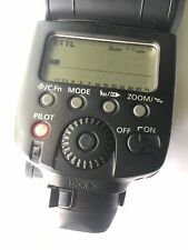 Canon Speedlite 580EX II Flash Turns On Doesn't Fire, Good Condition